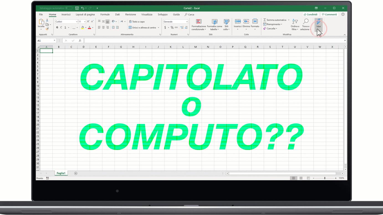 capitolato e computo metrico estimativo