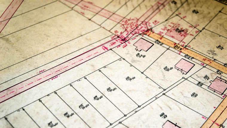 verifica dei confini di una proprietà a roma-studio tecnico franco lunadei