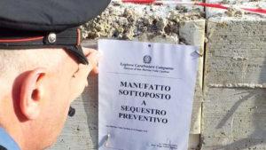 sequestro fabbricato per abuso edilizioa roma